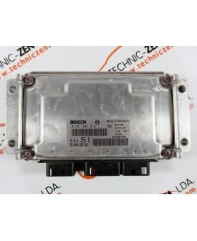 Engine Control Unit Citroen Xsara 1.6 HDI 9648483480, 96 484 834, 0261207318, 0 261 207 318, 261 207 318, 26FM1102