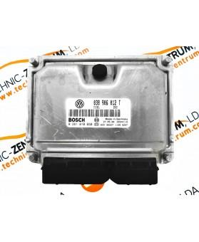 Centralina de Motor ECU Seat Toledo 038906012T, 038 906 012 T, 0281010060, 0 281 010 060