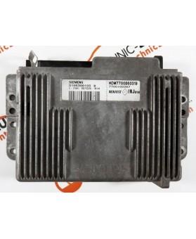Centralina de Motor ECU Renault Megane Coupe 1.6i 7700102267, 7700 102 267, S105300103B, S105300103 B74583, HOM7700860319, HOM 7700 860 319