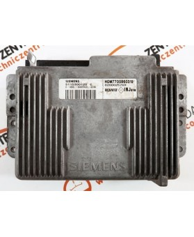 Engine Control Unit Renault Megane 1.6 8200025769, 8200 025 769, S115300120C, S115300120 C, HOM7700860319, HOM 7700 860 319