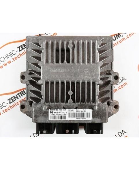 Centralina de Motor ECU Citroen Berlingo, Peugeot Partner 2.0 HDI 9657662380, 96 576 623 80, 5WS40155CT, 5WS4 0155CT, 9657662380, 96 576 623 80, 9647423380, 96 474 233 80, SID801A