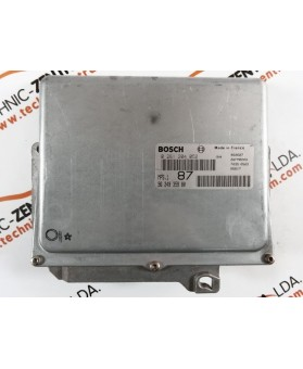 Centralina de Motor ECU Citroen Saxo 1.5 HDI 9624935980, 96 249 359, 0261204052, 0 261 204 052, 261 204 052, 26FM0203
