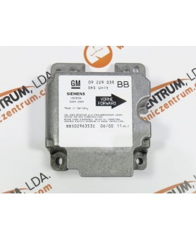 Centralita Airbags - 09229038BB