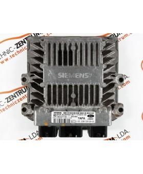 Centralina de Motor ECU Ford Fiesta 1.4 TDCI 3N1112A650AA, 3N11-12A650-AA, 5WS40070AT, 5WS4 0070AT