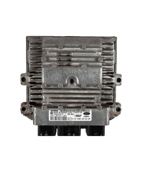 Centralina de Motor ECU Ford Fiesta 1.4 TDCI 2S6A12A650BL, 2S6A-12A650-BL, 5WS40027KT, 5WS4 0027KT