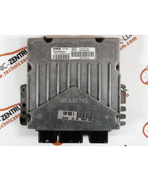 Centralina de Motor ECU Citroen Xsara 2.0 Hdi 9644803380, 96 448 033, 5WS40023DT, 5WS4 0023DTHW9644302380, HW 96 443 023 80