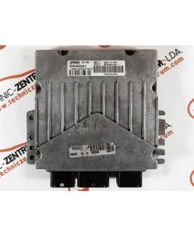 Centralina de Motor ECU Peugeot Partner 2.0 HDI 9646801080, 96 468 010, 5WS40025ET, 5WS4 0025ET9644323980, 96 443 239 80