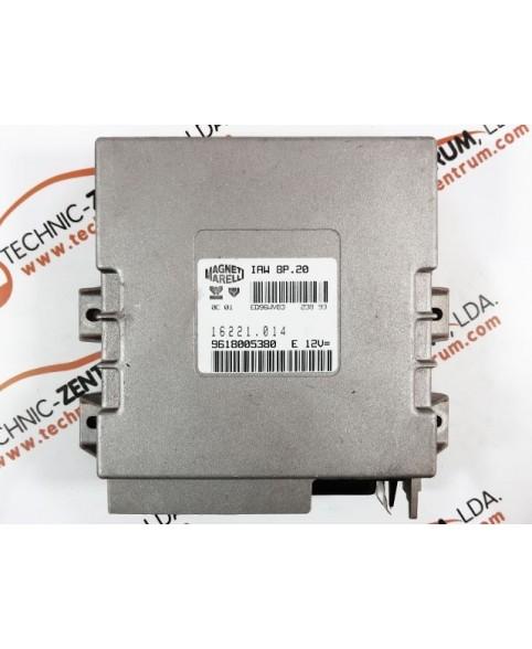 Centralina de Motor ECU Peugeot 405 2.0 9618005380E, 96 180 053 E, 16221014, 16221.014, IAW8P2016221004