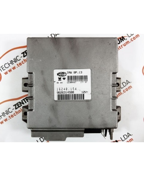 Centralina de Motor ECU Peugeot 405 1.6i 9626314580, 96 263 145, 16240154, 16240.154, IAW8P13
