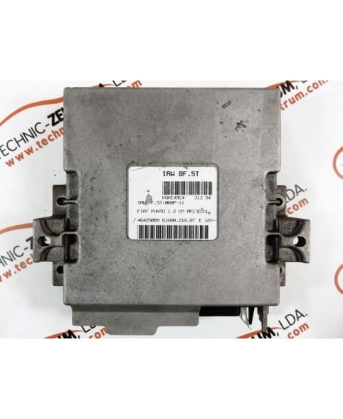 Centralina de Motor ECU Fiat Punto 1.2i 46425009, 6160021807, 61600.218.07, IAW8F5T