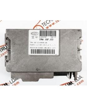 Centralina de Motor ECU Fiat Punto 1.2i 46524186, 6160210600, 61602.106.00, IAW16FE3