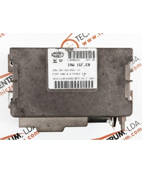 Centralina de Motor ECU Fiat 500 0.9 46411120, 6160207201, 61602.072.01, IAW16FE0