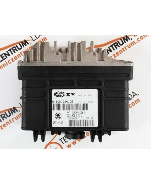 Centralina de Motor ECU Skoda Felicia 1.6i 441040460596, 441.0.4046-059.6, 6160028605, 61600.286.05, IAW1AVS1032906030L, 032 906 030 L