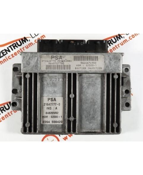 Centralina de Motor ECU Citroen Jumpy, Peugeot Expert 1.9D 9648707780, 96 487 077, 216477770, 19644674980, 96 446 749 80