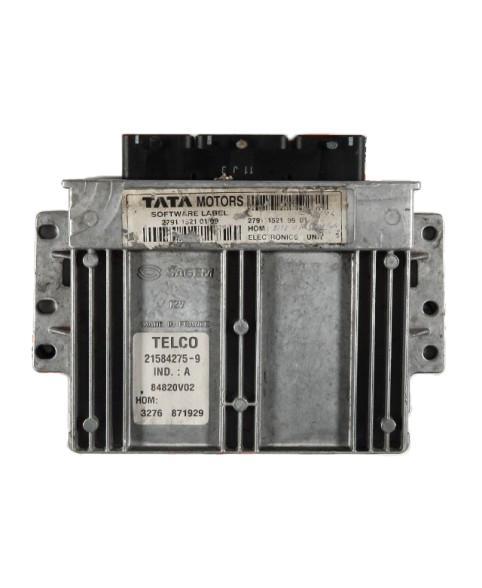 Centralina de Motor ECU Citroen Xsara 1.6i 9645027280, 96 450 272, 216466540, 1964467498000, 96 446 749 80 00
