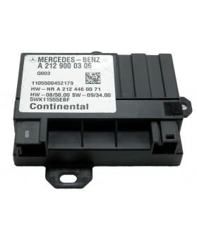 Uni. Control de combustible Mercedes Clase E - A2129000306