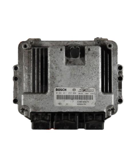 Centralina de Motor ECU Peugeot 206 1.4 HDI 9655919780, 96 559 197, 0281011784, 0 281 011 784, 281 011 784, 1039S06089