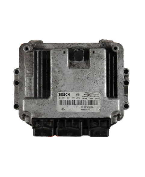 Centralina de Motor ECU Renault Megane 1.9 DCI 8200310863, 8200 310 863, 0281011390, 0 281 011 390, 281 011 390, 1039S02682, 8200349846, 8200 349 846