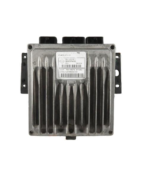 Centralina de Motor ECU Renault Clio 1.5 DCI 8200374150, 8200 374 150, R0410B027B, R 0410B027 B, 81102B8200331477, 8200 331 477