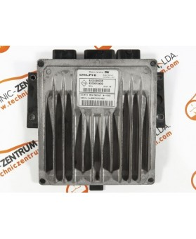 Centralina de Motor ECU Renault Twingo 1.5 DCI 8200619409, 8200 619 409, R0410B034C, R 0410B034 C, 81153E, 73562, 8200399038, 8200 399 038