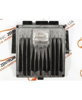 Centralina de Motor ECU Renault Clio 1.5 DCI 8200394698, 8200 394 698, R0410C122C, R 0410C122 C, 8200331477, 8200 331 477