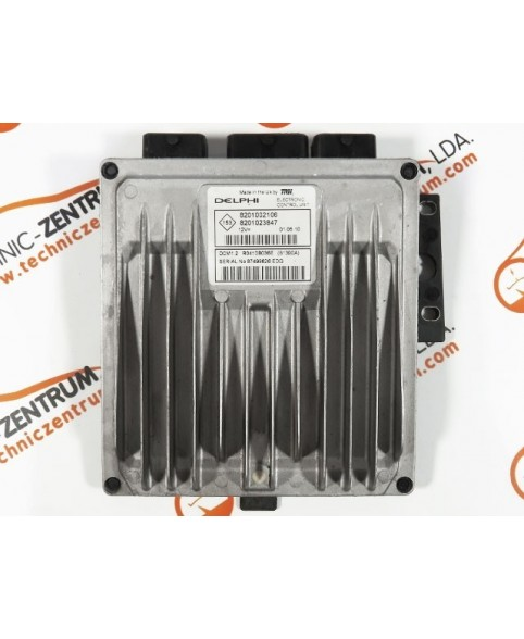 Centralina de Motor ECU Dacia Duster 1.5dCi 8201023847, 8201 023 847, R0410B036E, R 0410B036 E, 81390A8201002106, 8201 002 106