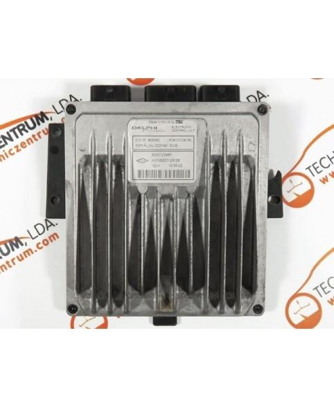 Centralina de Motor ECU Renault Kangoo 1.5 DCI 8200123485, 8200 123 485, R0410C041B, R 0410C041 B, 80958C, HOM8200129109, HOM 8200 129 109
