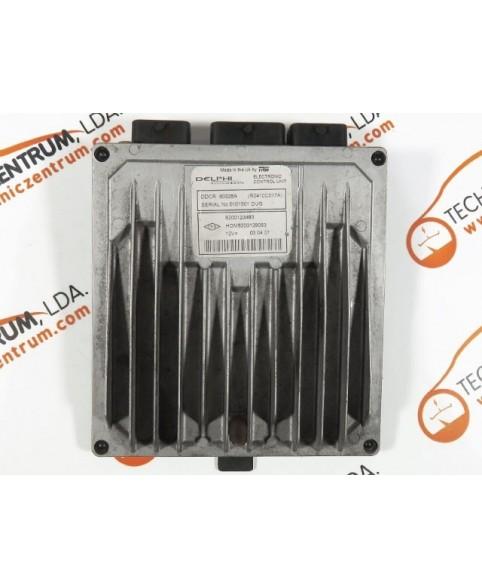 Centralina de Motor ECU Renault Clio 1.5 DCI 8200123483, 8200 123 483, R0410C017A, R 0410C017 A, 80925A, HOM8200129063, HOM 8200 129 063