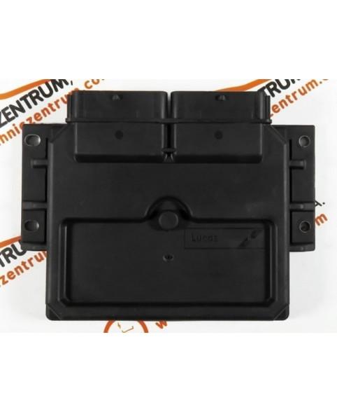Centralina de Motor ECU Fiat Doblo 1.9D 46737473, R04010036B, R 04010036 B, 80888B, DCU3F003