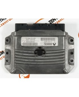 Centralina de Motor ECU Renault Megane 1.6 8200298463, 8200 298 463, 215841533B1, 8200298457, 8200 298 457