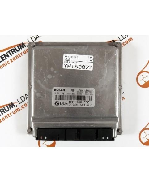 Centralina de Motor ECU Rover 75 2.0 DDE7785541, DDE 7 785, 0281001895, 0 281 001 895, 281 001 895, 28RTE522, NNN100692 A00 27