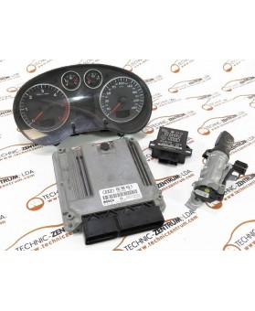Kits-ECU+Key+IMO - 03G906016G
