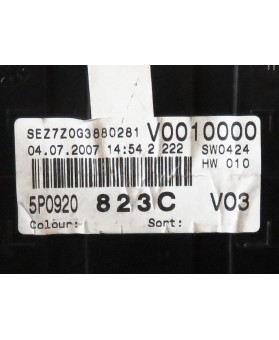 Digital Speedometer - 5P0920823C