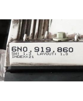 Quadrante Volkswagen Polo - 6N0919860E