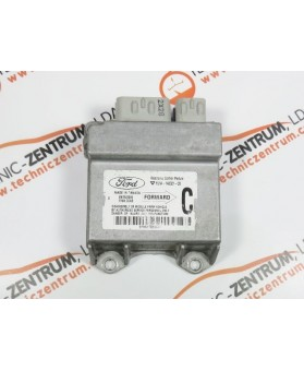 Centralita Airbags - YC1A14B321CB