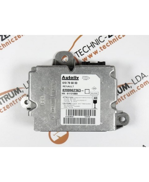 Centralita Airbags - 8200962363