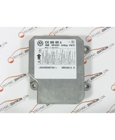 Module - Boitier - Airbag Skoda Fabia - 1C0909601A