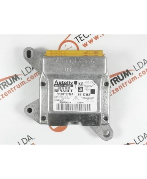 Centralita Airbags - 8200112746A