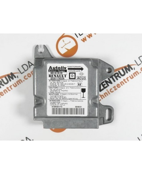 Airbag Module - 8200117653A