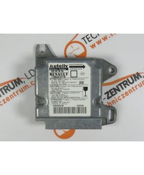Centralita Airbags - 7700437477B