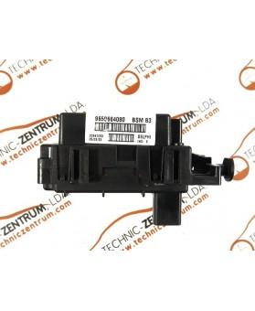 BSI - Cx. Fusíveis Peugeot 206  9650664080, 96 506 640 80, Index E, BSMB3