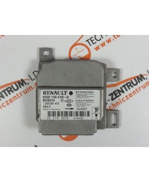 Centralita Airbags - 8200136038B