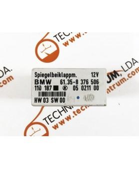 Módulo Espelhos BMW E46 - 61358376506,61.35-8 376 506