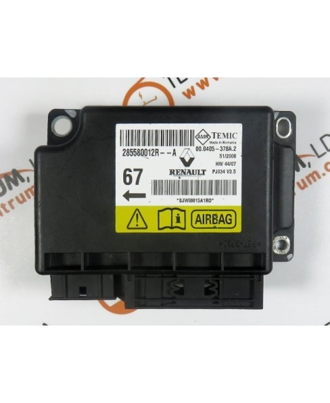 Centralita Airbags Renault Scenic  - 285580012R--A
