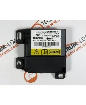 Centralina de Airbags - 8201163282