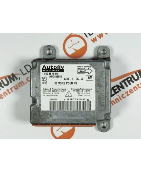 Centralita Airbags - 9643825880