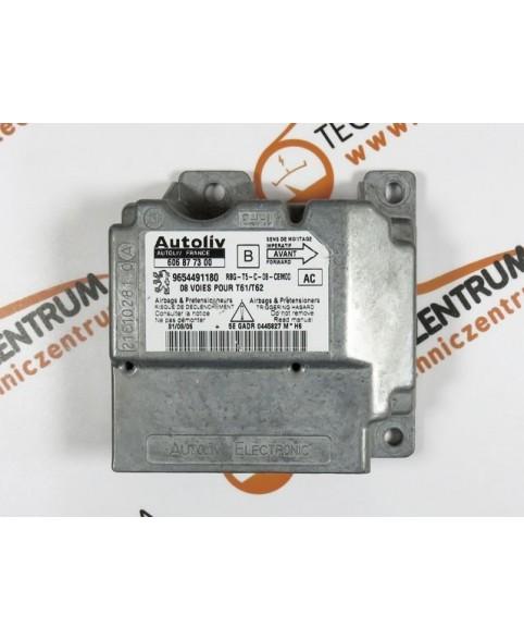 Module - Boitier - Airbag Peugeot 307- 9654491180