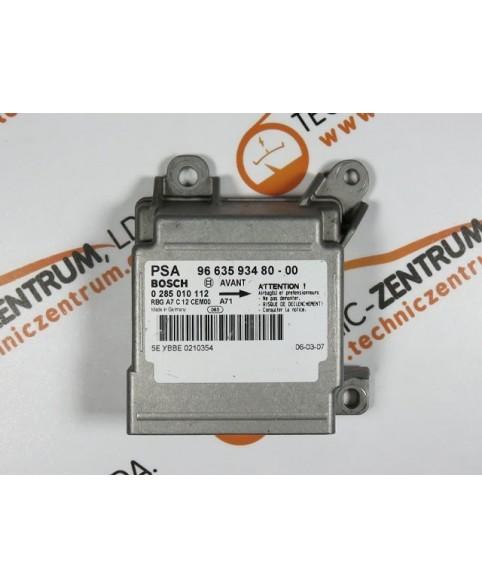 Centralita Airbags - 966359348000