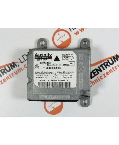 Centralina de Airbags - 9658177080