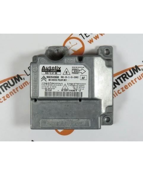 Centralina de Airbags - 9662643980